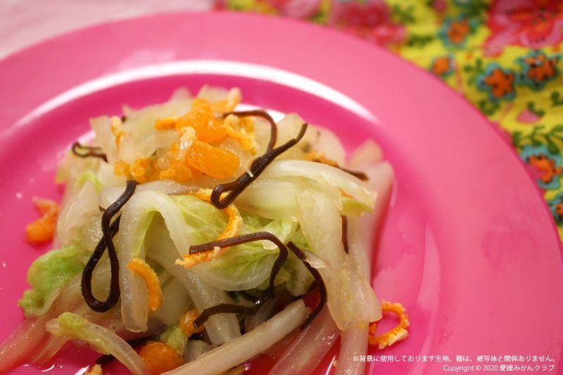 白菜とみかん酢漬け